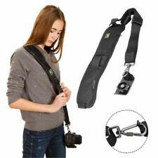 Quick Sling Camera Canon Sony Nikon Single Shoulders Belt Strap SLR DSLR Cameras