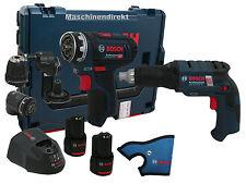 Bosch Akku Bohrschrauber GSR 12V-15 FC FlexiClick + GSR 12V-EC TE Bauschrauber
