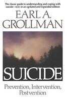 Suicide: Prevention, Intervention, Postvention