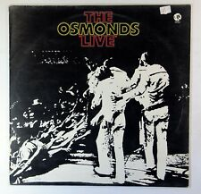 "The Osmonds - ""Live"" (UK Vinyl LP 1st) Excellent Vinyl"