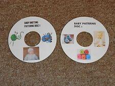 Muñecas del bebé/grande de tejer patrones en 2 Cds