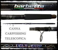 canna carpfishing ugly carbonio intrecciato 12 piedi 3lbs pesca carpa storione