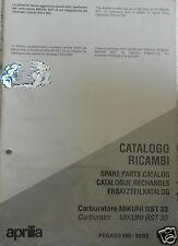 APRILIA catalogo ricambi Carburatore MIKUNI BST 33
