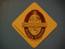 Beer Pub Coaster Bar Mat <> SPRINGFIELD Brewing Co Fine Ales & Lagers ~ MISSOURI