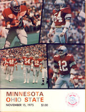 1975 Minnesota Gophers vs Ohio State Buckeyes Program
