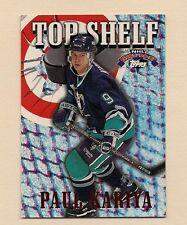 1996-97 ANAHEIM DUCKS STEVE KARIYA # TS4 TOP SHELF INSERT  CARD