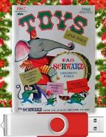 Vintage 1967 FAO Schwarz Christmas Book / Catalog On USB Drive F.A.O.