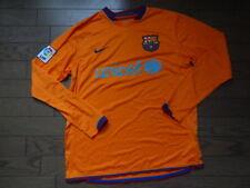 Camiseta Barcelona 100% Original Jersey M 2006 07 lejos Kit Ls Buenas  Condiciones f4b12cf9a27