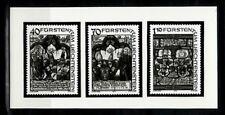 Photo Essay, Liechtenstein Sc671-3 Heraldic Panels.