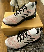 Adidas Men's Terrex Two Parley Gray Red Black FU7659 Sizez 11, 11.5, 13
