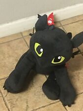"How to Train Your Dragon Hidden World Black œuf Toothless avec taches 3/"" plush"
