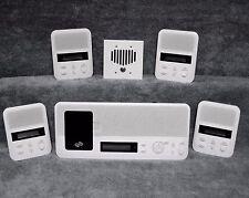 (4) Room & Bluetooth Kit IntraSonic I2000M Intercom