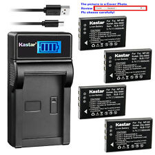 Kastar Battery LCD Charger for Kodak KLIC-5000 & Kodak EasyShare Z730 Camera