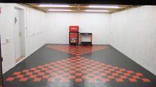 Rubber PVC Flooring heavy Interlocking garage Floor tile the cheapest on ebay!