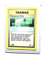 TRANSPARENT WALLS - 1st Edition Gym Challenge  - 125/132 - Common - Pokemon - NM