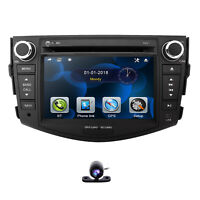 7.0 inch Car DVD GPS Stereo Player Head Unit For TOYOTA RAV4 2006 - 2012 IPOD