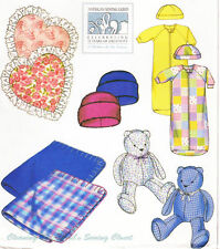 Baby Bunting Blanket Pillow Bear American Guild McCall Sewing Pattern UNCUT 4168