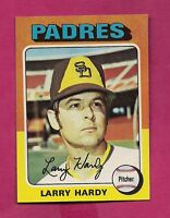 1975 TOPPS # 112 PADRES LARRY HARDY ROOKIE  NRMT-MT  CARD (INV# A3910)
