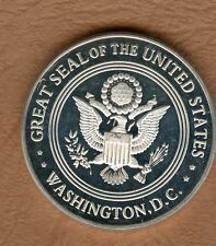 COINS / SILVER / ARGENT / GREAT SEAL OF THE UNITED STATES WASHINGTON
