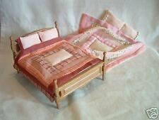 Set Miniature Beds for Dolls
