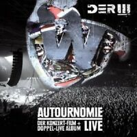 DER W - AUTOURNOMIE LIVE 2 DVD + 2 CD NEU