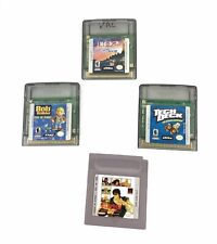 Lot of 4 Gameboy Games Tech Deck Skateboarding 102 Dalmations Bob the Builder