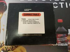 2pk T325 Correctable Black Ribbon Nakajima/Olivetti/Olympia/Royal/Swintec