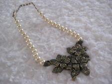 """HEIDI DAUS """"Four Seasons In Bloom"""" (Trembling Flowers) Necklace (Orig.$289.95)"""