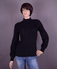 Angora  Damen Pullover, Farbe: schwarz und Größe: M oder L (nach Wahl)