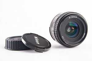 Nikon AF Nikkor 28mm f/2.8 Wide Angle Autofocus Lens with Both Caps READ V17