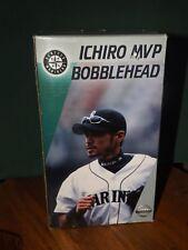 "ICHIRO SUZUKI ""MVP"" BOBBLEHEAD, 2002 MARINER SGA, COMMEMORATING 2001 SEASON, NIB"