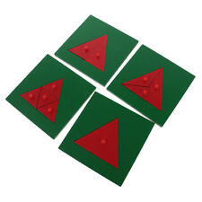Montessori Triangle Wooden Toy for Preschool Early Learning Kids Toys Gift