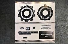 Rangemaster 60S compatible fascia panel sticker set.
