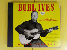 "Rare Shellac 4 LP 10"" Set Burl Ives Ballads and Folk Songs 78 RPM Decca Records"