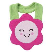 Waterproof Kids Sunflower Cartoon Lunch Bibs Infant Animal Saliva Towel Bib New