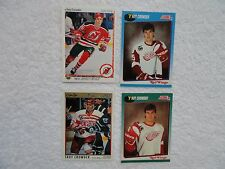 Troy Crowder 1990/91 UD Rookie Card 4 Card Lot Detroit Red Wings PACK FRESH!!