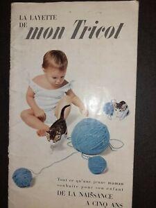 Catalogue Revue Vintage La Layette de mon Tricot N°48 1961