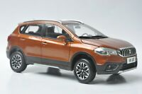 Suzuki S-CROSS car model in scale 1:18 Orange