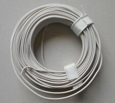 WHITE 22-Gauge Single Strand Copper Plastic Coated Wire 32' HOBBY ACCESSORY