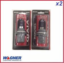 2 pcs of Headlight Bulb Capsules WAGNER Roush VIVID White 9004 12V HB1