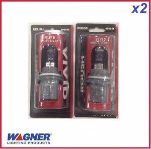 2 pcs of Headlight Bulb Capsules WAGNER Roush VIVID White 9004 12V HB1