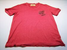 GUESS Casual V-neck T-shirt Men's Size M