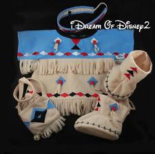 Build-A-Bear NATIVE AMERICAN GIRL INTERNATIONAL COSTUME DRESS Teddy Clothes Set