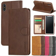 LC.imeeke For iPhone SE 6 7 8Plus Xr Xs Max Leather Wallet Flip Stand Case Cover