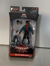 """New listing Marvel Legends 2020 Spider-Verse Miles Morales Stilt-Man Baf 6"""" Figure In Hand"""