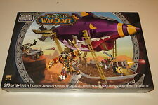 New Sealed Mega Bloks World of Warcraft Goblin Zeppelin 91014 ( Lego )