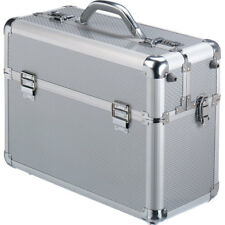 Falcon Aluminium Beauty Case factory sample FI2993 Silver #119