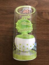 Nwt Dimpl Wobbl Green Usa Fidget Teether Baby Toy Child. Hot New Toy