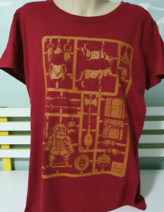 WOMENS T SHIRT DUNGEONS AND DRAGONS SNAP OUT MODELS SHIRT XL RED