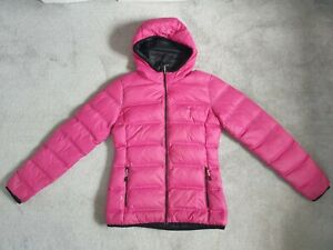 Dare 2b Ladies Hot Pink Down & Feather Coat Jacket - Size 8